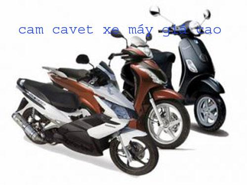 Nhận cầm cavet xe – cavet xe máy giá cao và uy tín nhất tại quận 8 Tphcm